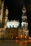 德累斯顿hofkirche 库存照片