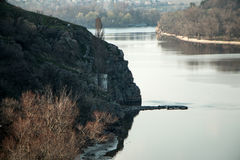 德聂伯级河 库存图片
