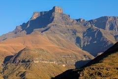 德肯斯伯格山-南非 免版税库存图片