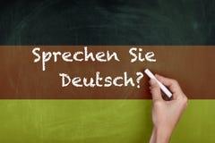 德语学会 库存图片