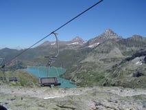 德语的阿尔卑斯 库存照片