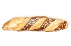 德语的Laugenstangerl -,奥地利卷面包 库存图片