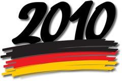 德语2010个的颜色 皇族释放例证