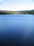 德贝郡湖 免版税库存照片