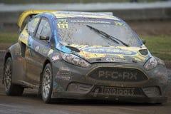 德里克Tohill 巴塞罗那FIA世界Rallycross冠军 免版税库存图片