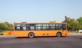 德里公共汽车 免版税库存图片