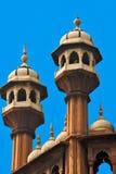 德里印度jama老masjid清真寺 免版税图库摄影
