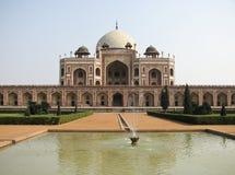 德里印度jama masjid清真寺 免版税库存照片