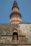德里印度minar qutub 库存照片