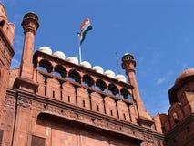 德里堡垒印度红色 免版税库存图片