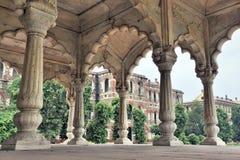 德里堡垒印度红色 库存图片