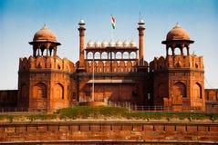 德里堡垒印度红色 图库摄影