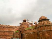 德里堡垒红色 库存图片