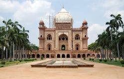德里新的s safdarjung坟茔 免版税库存图片