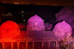 德里的历史的纪念碑 库存图片