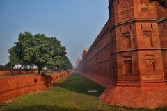 德里红堡在德里市 库存图片