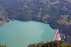 德里纳河河的水力发电厂Perucac 库存图片