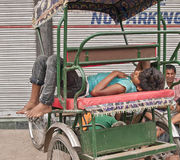 德里,印度。 免版税库存照片