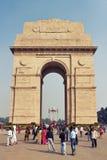 德里,印度- 2011年10月31日:看法  免版税库存图片