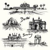 德里,孟买 免版税库存图片