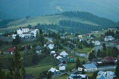 德雷库拉城堡在罗马尼亚 免版税图库摄影