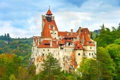 德雷库拉城堡,罗马尼亚 免版税库存照片