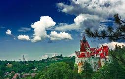德雷库拉城堡 库存图片