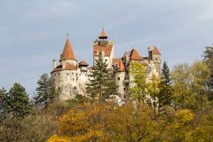 德雷库拉的城堡 库存照片