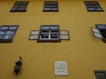 德雷库拉的房子 免版税库存照片