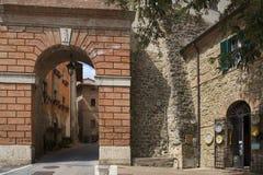 德鲁塔,佩鲁贾,翁布里亚,意大利,欧洲 免版税库存照片