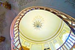 德黑兰,伊朗玻璃和陶瓷博物馆内部  库存图片