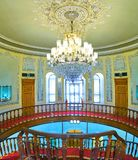 德黑兰,伊朗玻璃和陶瓷博物馆美丽的interrior  免版税库存照片