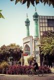 德黑兰,伊朗- 2016年10月03日:人们走在德黑兰的, Ira 免版税库存照片