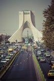 德黑兰,伊朗- 2016年10月03日:Azadi塔位于Azadi S 免版税库存照片