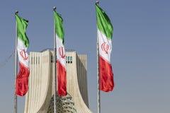 德黑兰,伊朗- 2016年10月04日:Azadi塔的看法在Tehr 库存照片