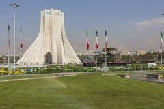 德黑兰,伊朗- 2016年10月04日:Azadi塔的看法在Tehr 图库摄影