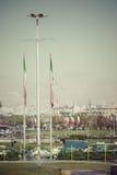 德黑兰,伊朗- 2016年10月04日:Azadi塔的看法在Tehr 免版税库存照片