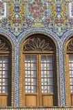 德黑兰,伊朗- 2016年10月05日:Golestan宫殿的外部  免版税库存照片