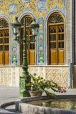 德黑兰,伊朗- 2016年10月05日:Golestan宫殿的外部  库存图片