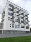 2014年德绍德国鲍豪斯建筑学派大厦 免版税库存图片