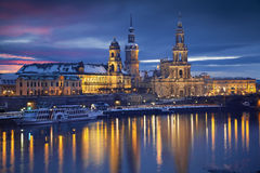 德累斯顿。 免版税图库摄影