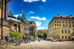 德累斯顿和它的周围 免版税图库摄影