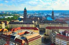 德累斯顿地平线,德国 库存图片
