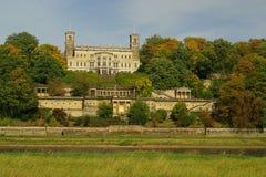 德累斯顿城堡Albrechtsberg 免版税库存照片