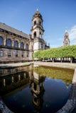 德累斯顿市在德国 免版税库存照片