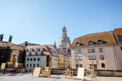 德累斯顿市在德国 图库摄影