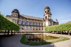 德累斯顿市在德国 库存照片