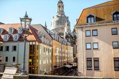 德累斯顿市在德国 免版税图库摄影