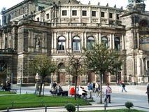 德累斯顿德国欧罗巴 免版税图库摄影