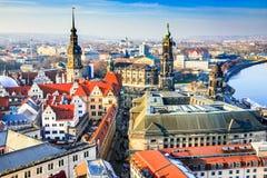 德累斯顿德国 免版税库存照片